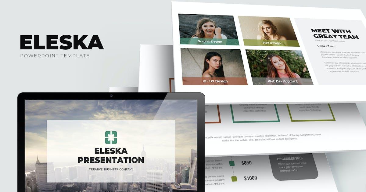 Download Eleska : Sales & Marketing Pitch Powerpoint by punkl