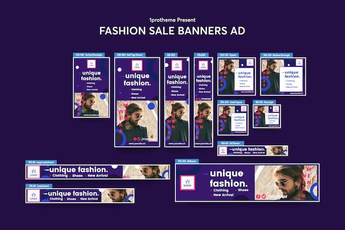 Thumbnail for Fashion Sale Bannières Publicités