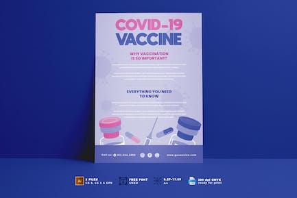 Covid Vaccine Flyer Vol. 02