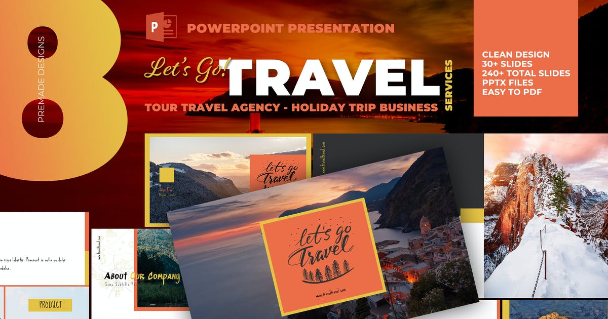 Download Tour Travel Agency Powepoint Template by afahmy