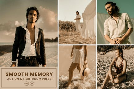 Smooth Memory  Action & Lightrom Presets