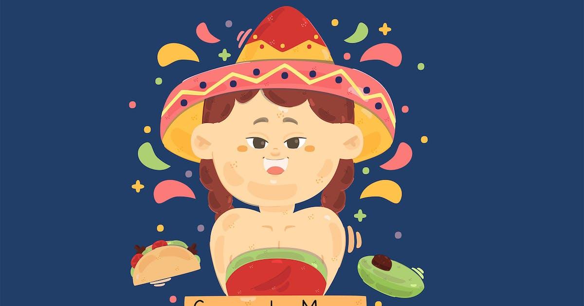 Download Cinco de Mayo Background Illustration by april_arts