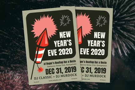 New Year's Eve Flyer
