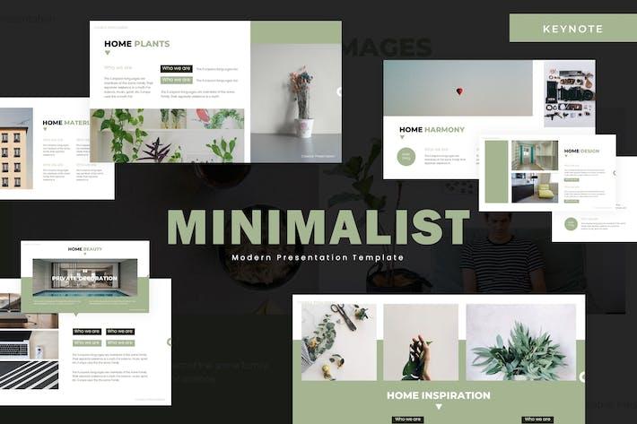 Thumbnail for Minimalist - Keynote Template
