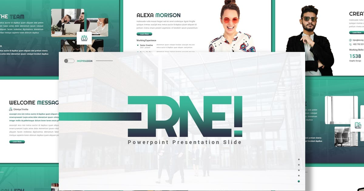 Download Erne - Business Powerpoint Template by inspirasign