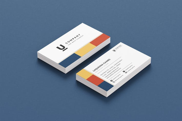 Thumbnail for Colour Company Business Card