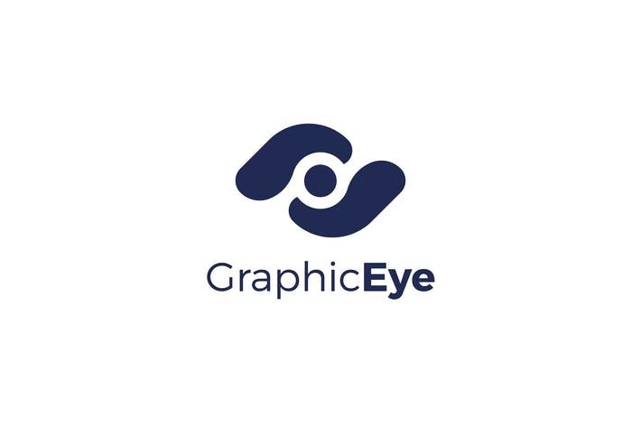 Thumbnail for Graphic Eye Logo Template