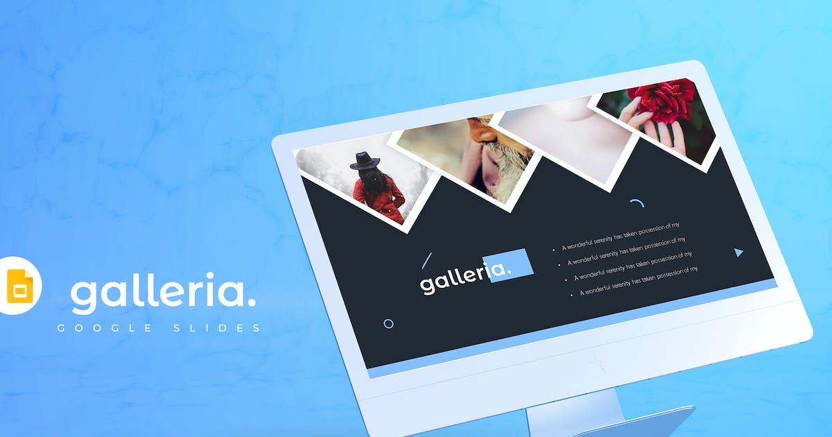 Download Galleria - Google Slides Template by aqrstudio