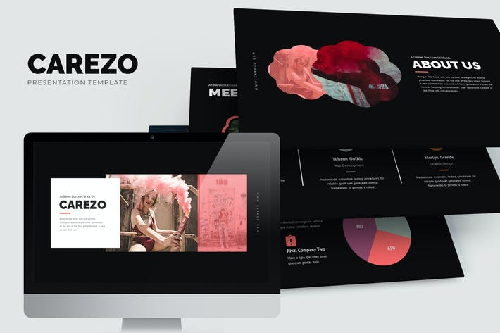 Thumbnail for Carezo : Creative Agency Studio Powerpoint