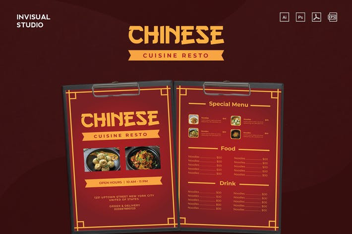 Thumbnail for Chinese Cuisine Resto - Food Menu