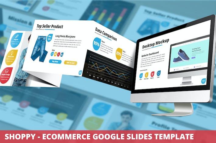 Thumbnail for Shoppy - Ecommerce Google Slides Template