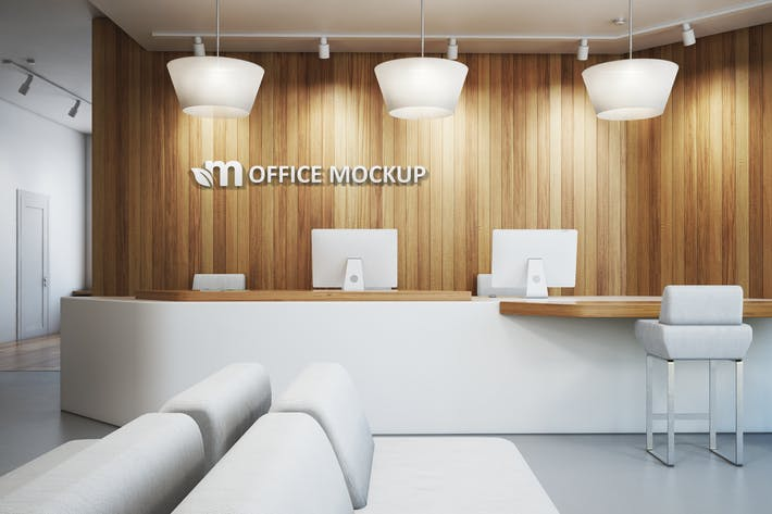 Thumbnail for Office Interior Branding Mockups Vol.1
