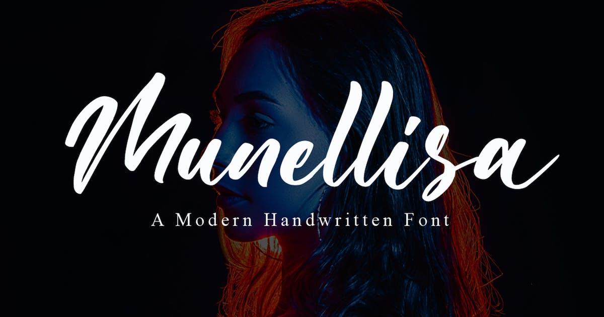 Download Munellisa - Elegant Font by NissaStudio