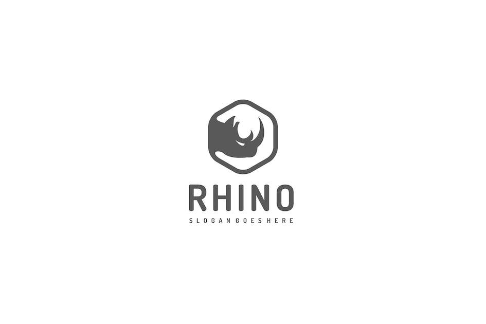 Download Rhino Logo by 3ab2ou