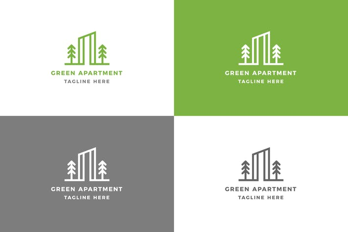 Thumbnail for Apartment - Logo Template