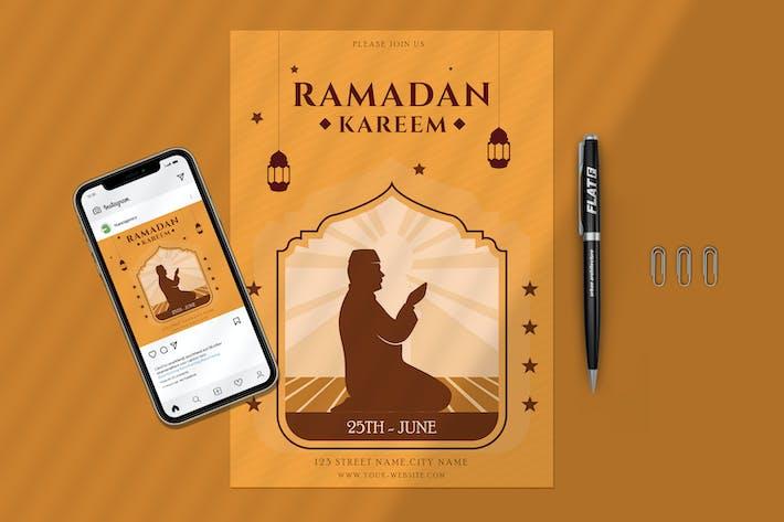 Ramadan Kareem Party And Banner