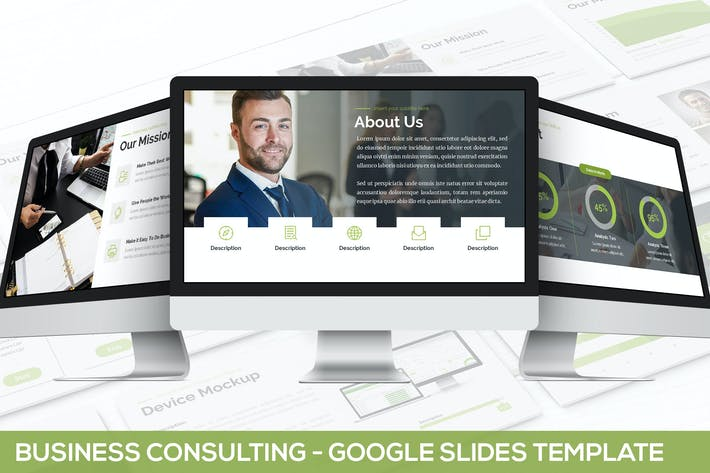 Thumbnail for Business Consulting - Google PräsentationsVorlage