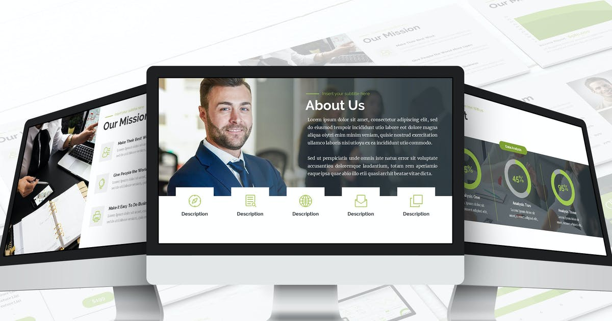 Business Consulting - Google Slides Template by Unknow