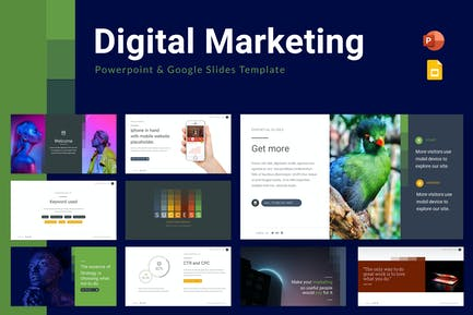 Digital Marketing Powerpoint & Google Slides