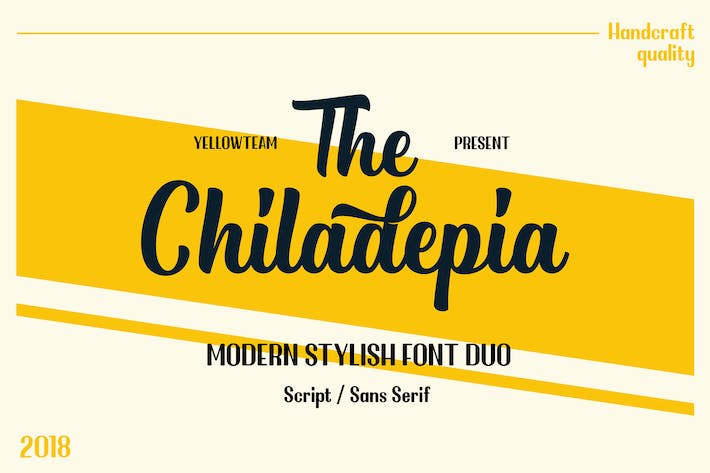 Thumbnail for Chiladepia - Font Duo
