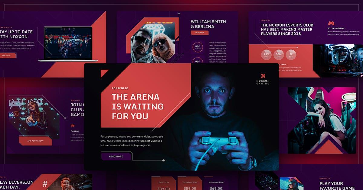Download Noxxon - Esport & Gaming Keynote by yossy1