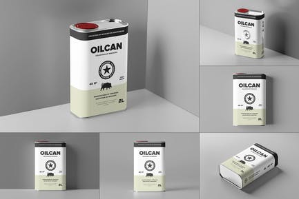 Oil Can Mock-up
