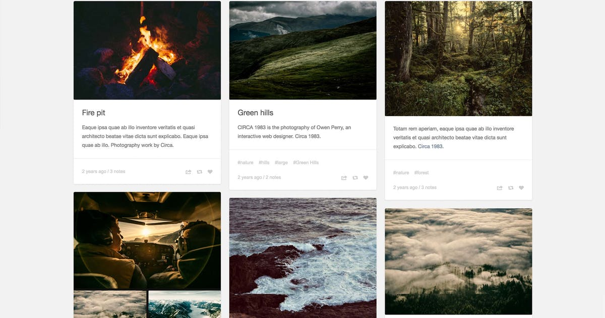 Download Panorack - Responsive Grid Theme by thejenyuan