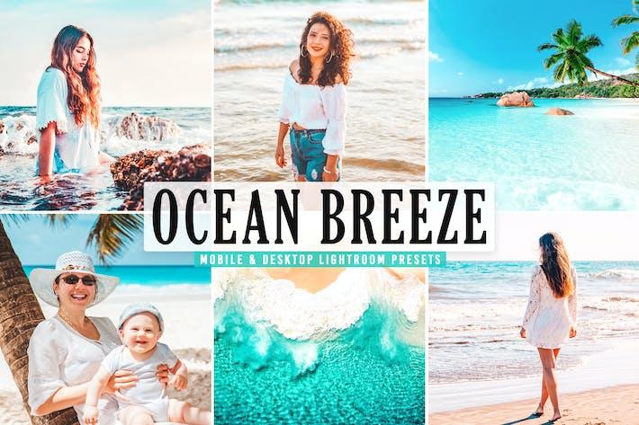 Thumbnail for Пресеты Lightroom Ocean Breeze для мобильных и настольных компьютеров