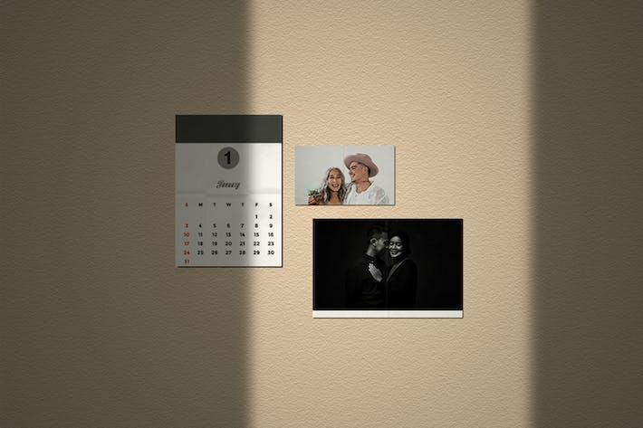 Minimalist Polaroid Mockup 6