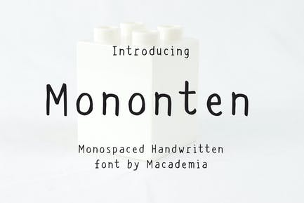 Mononten - Monospaced