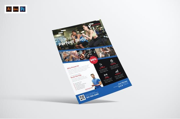 Thumbnail for Fitness Flyer Design