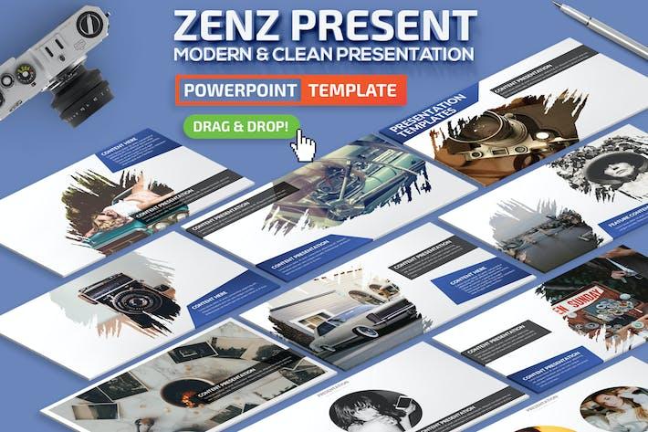 Thumbnail for Презентация Powerpoint Zennz