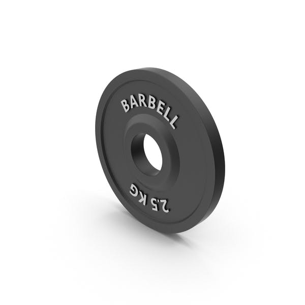 Thumbnail for Barbell Weight 2.5 kg