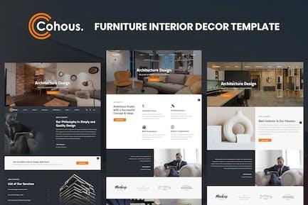 Cohous - Modèle de design d'intérieur