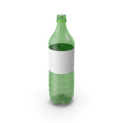 Botella de plástico vacía