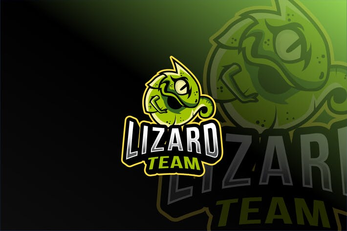 Thumbnail for Lizard Team Esport Logo Template