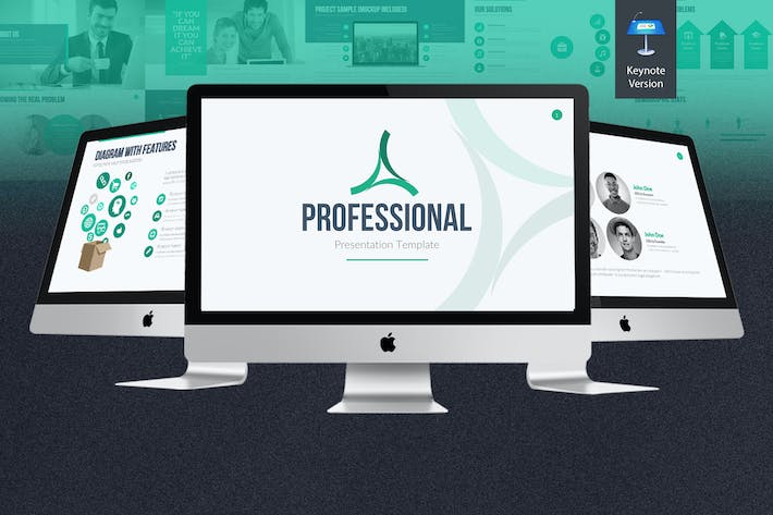 Thumbnail for Professional Keynote Template