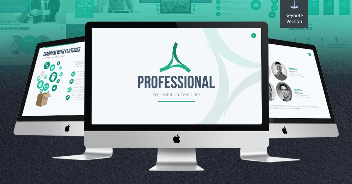 Professional Keynote Template by Unknow