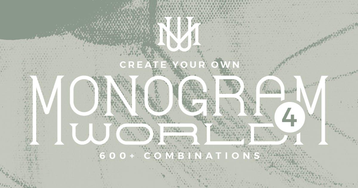 Download Monogram World Serif by Mihis_Design