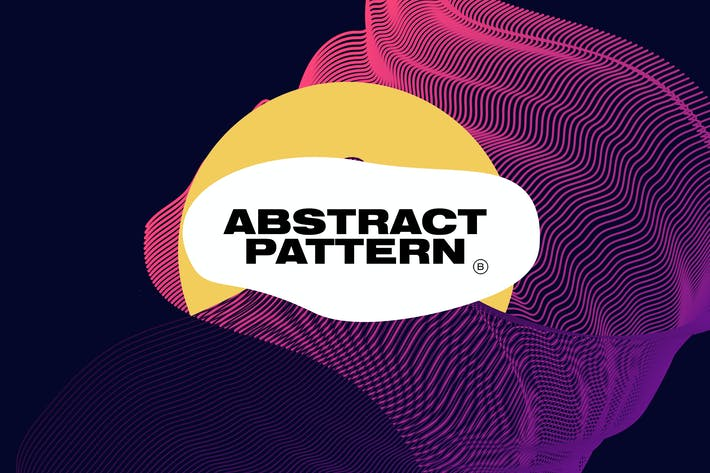 Thumbnail for Futuristic Abstract Line Pattern