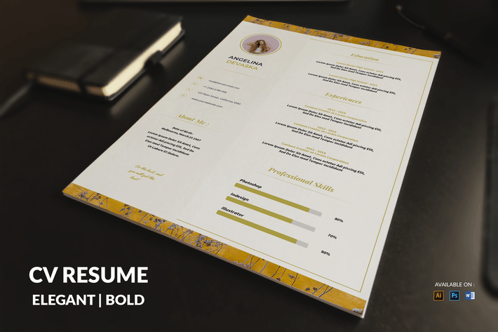Thumbnail for CV Resume Modern And Stylish