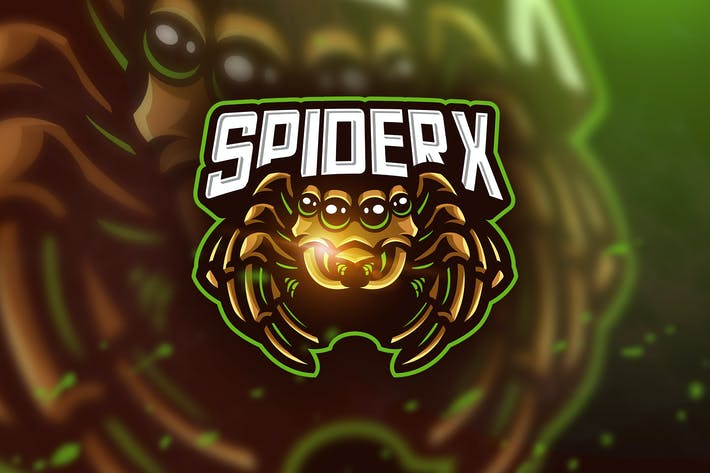 Thumbnail for Spider - Mascot & Esport Logo