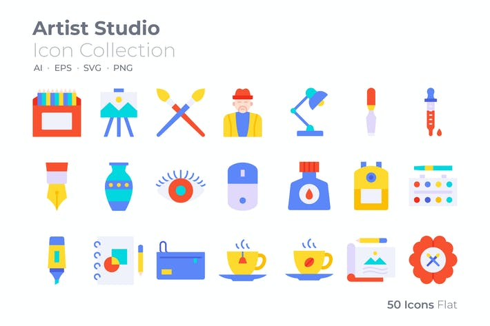 Thumbnail for Artist Studio Color Icon