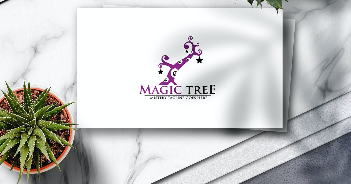 Download Magic Tree Logo by Voltury