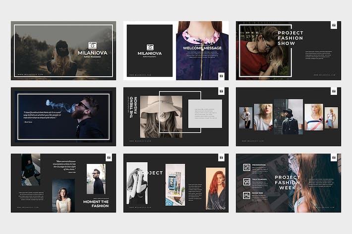 Milaniova : Fashion Powerpoint Presentation by punkl on