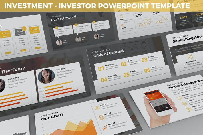 Thumbnail for Investment - Investor Powerpoint Template
