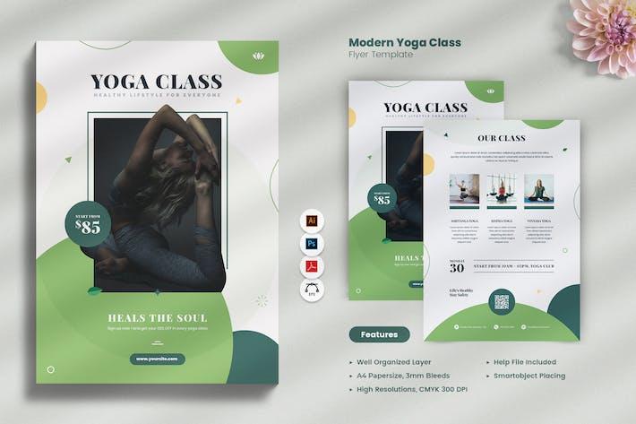 Circulaire de cours de yoga