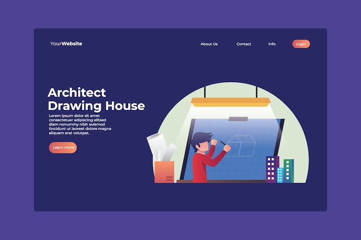 Thumbnail for Architect Drawing House