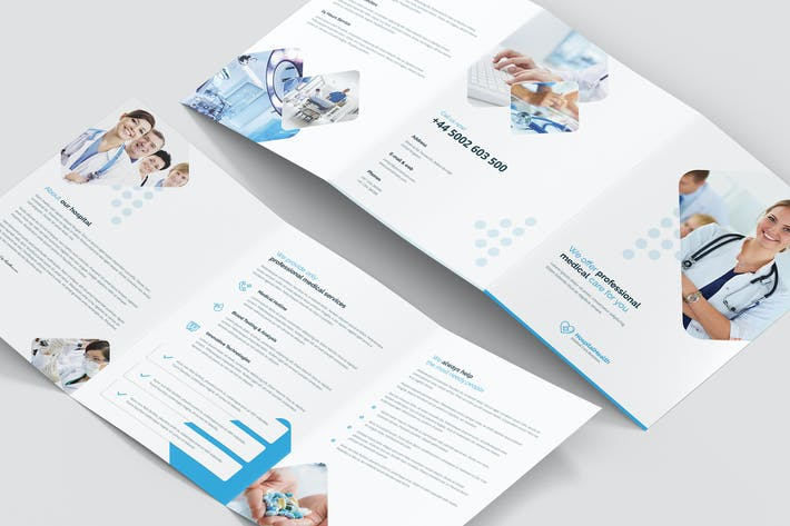 Thumbnail for Brochure – Hospital Tri-Fold A5