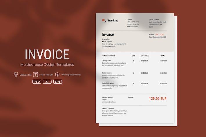 Thumbnail for ADL Invoice Template.v20